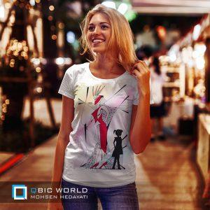 فروش تی شرت دخترانه